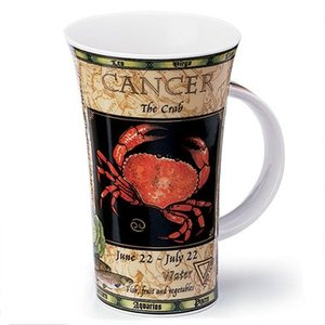 Dunoon Glencoe Zodiac Cancer Mug