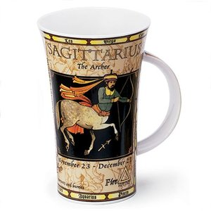 Dunoon Glencoe Zodiac Sagittarius Mug
