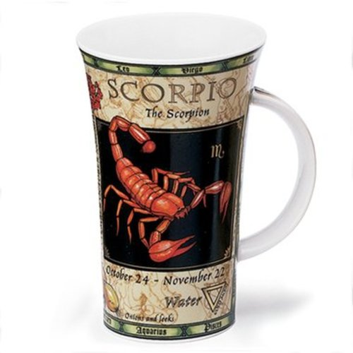 Dunoon Dunoon Glencoe Zodiac Scorpio Mug