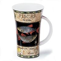 Glencoe Zodiac Pisces Mug