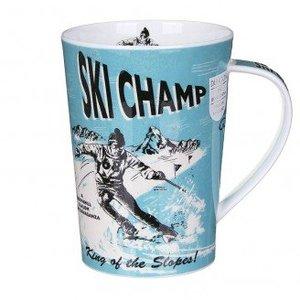 Dunoon Argyll Sports Stars Ski Mug