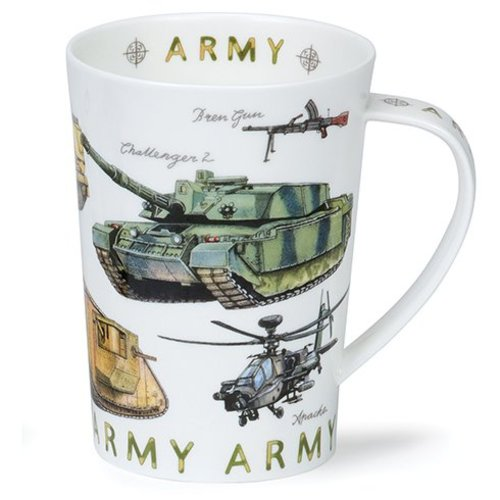 Dunoon Argyll Armed Forces Mug - Army