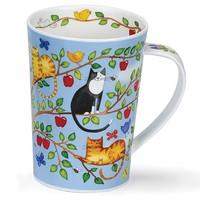 Dunoon Argyll Family Tree Mug  - Apple