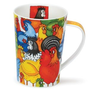 Dunoon Dunoon Argyll Hide and Seek Mug - Chicken