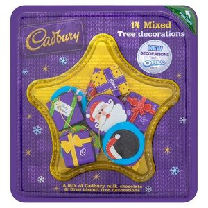 Cadbury Cadbury Mixed Tree Decorations