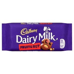 Cadbury Cadbury Dairy Milk Fruit & Nut - 110g