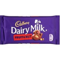 Cadbury Dairy Milk Fruit & Nut  - 200g