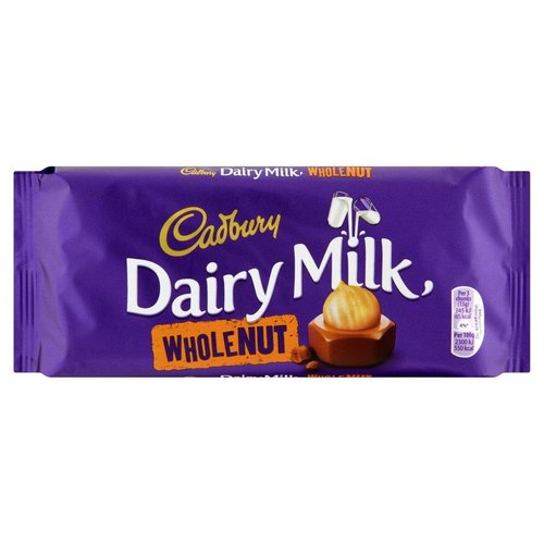 Cadbury Cadbury Dairy Milk Whole Nut - 120g