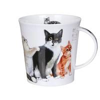 Dunoon Cairngorm Cats & Kittens - Black & White