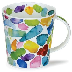 Dunoon Cairngorm Blobs! Green Mug