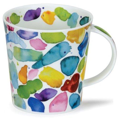 Dunoon Dunoon Cairngorm Blobs! Green Mug