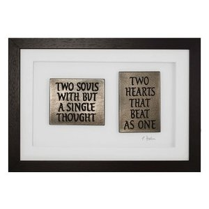 Wild Goose Wild Goose Two Souls With But A Single Thought  Framed Plaque