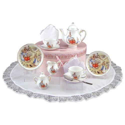 Peter Rabbit Peter Rabbit Medium Tea Set in Hat Box