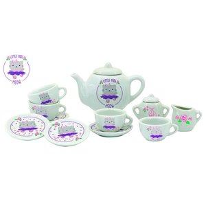 Schylling Schylling Little Miss Meow Tea Set