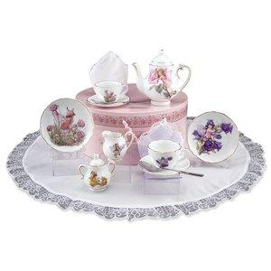 Flower Fairies Flower Fairies Medium Tea Set in Hat Box