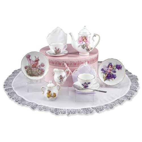 Flower Fairies Flower Fairies Medium Tea Set in Hat Box
