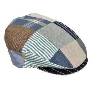 Hanna Hats Hanna Hats Patchwork Linen Cap