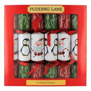 Pudding Lane Pudding Lane Santas & Penguins Crackers