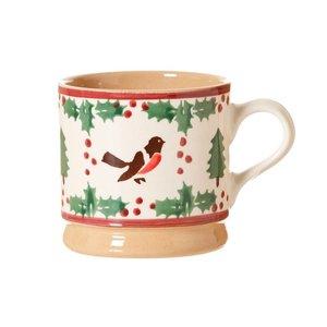 Nicholas Mosse Nicholas Mosse Winter Robin Small Mug
