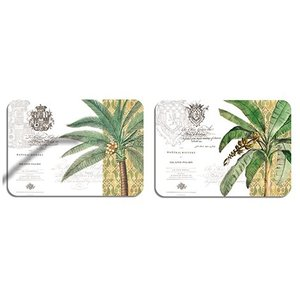 Cala Williamsburg Tropical Palms Placemats