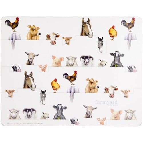Ashdene Farmyard Friends Placemats
