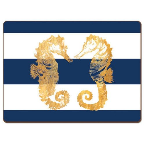 Cala Nautical Seahorses Coasters