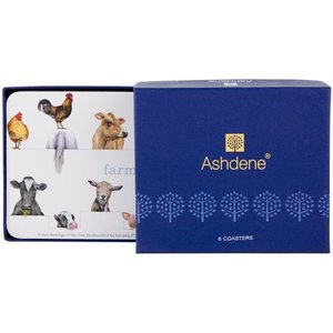 Ashdene Farmyard Friends Coasters