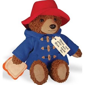 Paddington Bear Paddington Plush With Sandwich