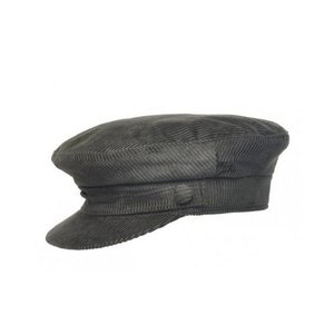 Jonathan Richard Jonathan Richard Grey Corduroy Skipper Cap