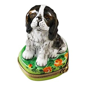 limoges Limoges Tri-Color Cavalier Box