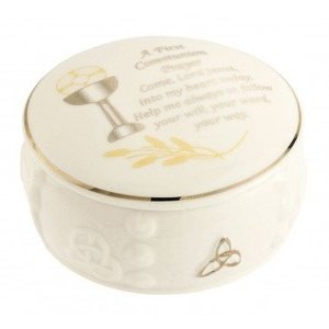 Belleek Belleek Communion Prayer Box