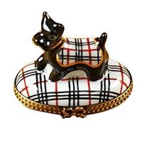 Limoges Scottish Terrier Box