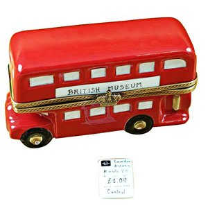 Limoges Double Decker Bus Box