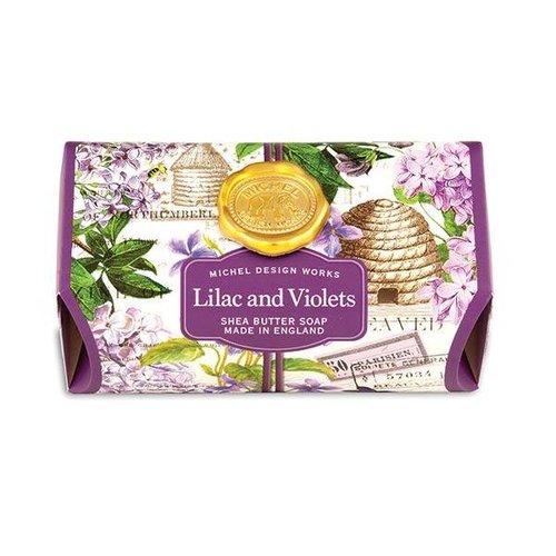 Michel Design Works Michel Lilac And Violets Bath Soap