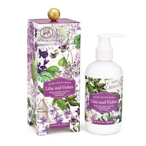 Michel Design Works Michel Lilac And Violets Hand And Body Lotion