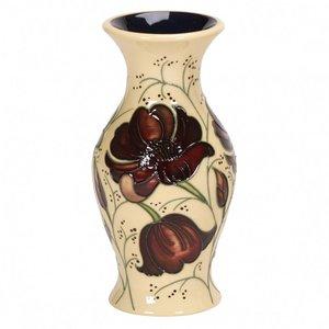 Moorcroft Pottery Moorcroft Chocolate Cosmos Vase 226/5
