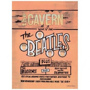 Original Metal Sign Co. Original Metal Sign Co. Beatles The Cavern Sign