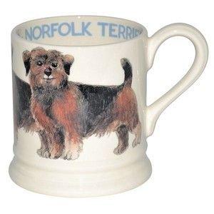 Emma Bridgewater Bridgewater 1/2 Pint Dogs Mug - Norfolk Terrier