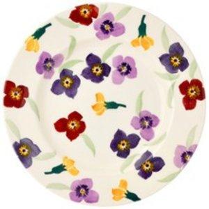 """Emma Bridgewater Bridgewater Wallflower 8 1/2"""" Plate"""