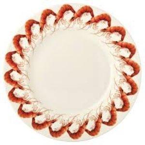 """Emma Bridgewater Bridgewater Shellfish 10 1/2"""" Plate"""
