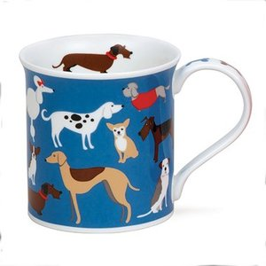Dunoon Dunoon Bute Dogs On Parade Mug