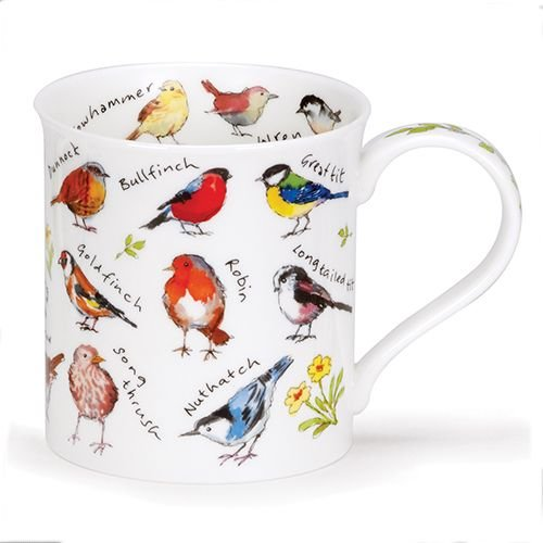 Dunoon Dunoon Bute Birdlife Garden Birds Mug