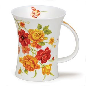 Dunoon Dunoon Richmond Vintage Flowers Yellow Mug