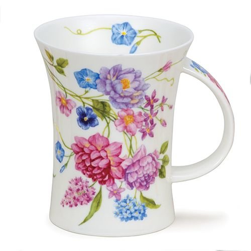 Dunoon Richmond Vintage Flowers Lilac Mug