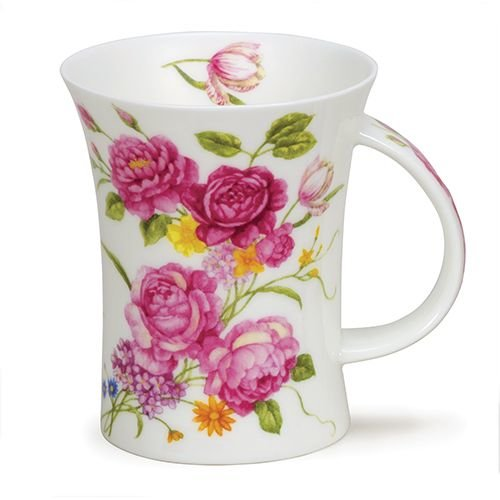 Dunoon Richmond Vintage Flowers Pink Mug