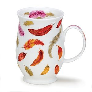 Dunoon Suffolk Fantasy Red Mug
