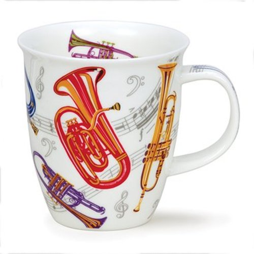 Dunoon Nevis Tempo Trumpet Mug