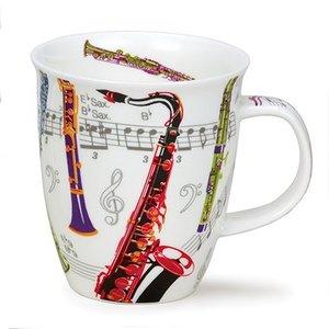 Dunoon Nevis Tempo Saxophone Mug
