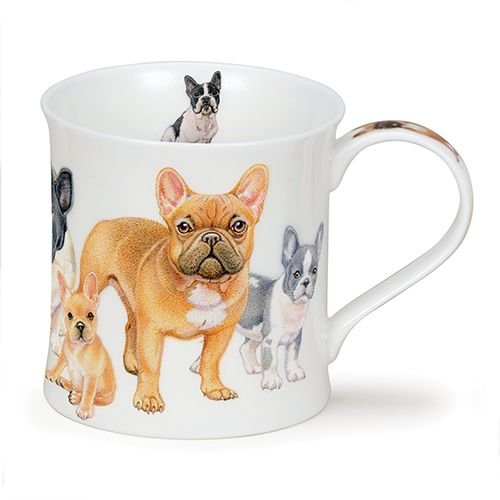 Dunoon Dunoon Wessex Designer Dogs Mug - French Bulldog