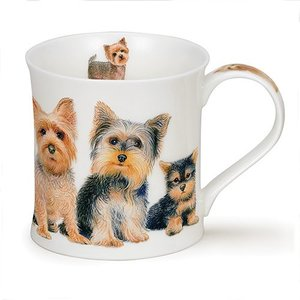 Dunoon Dunoon Wessex Designer Dogs Yorkie Mug
